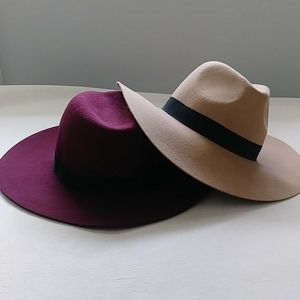 COPY - 🆕 ZARA Flat Brim Hats $13each OR 2for$19